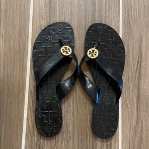 Tory Burch thora jelly flip flops size 7